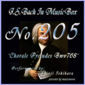 バッハ・イン・オルゴール205 /コラール前奏曲 BWV768の画像